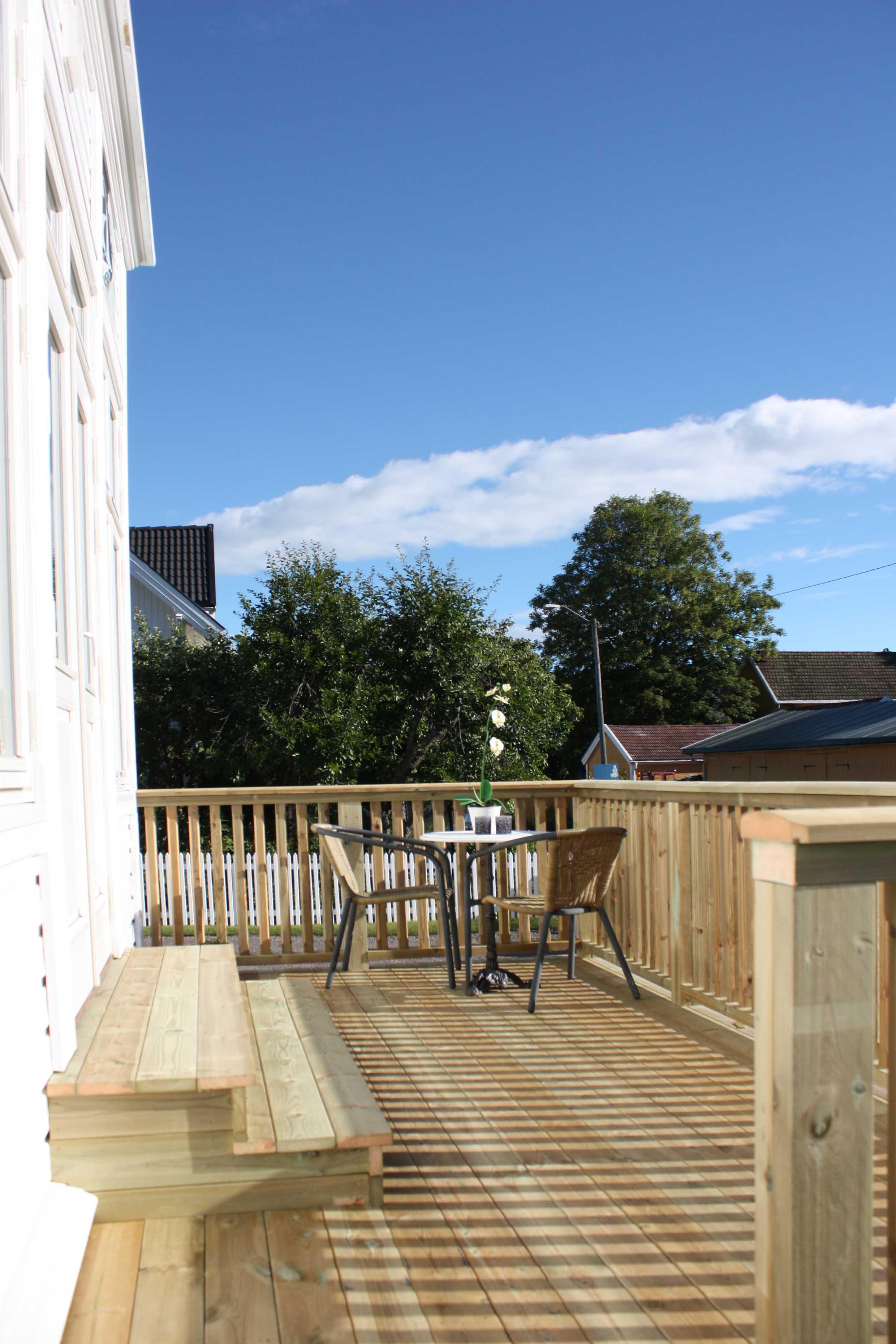 Terrasse 1 etg